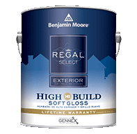 Regal Select Exterior High Build, Soft Gloss N403
