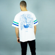 "Load image into Gallery viewer, ""Pfau"" T-Shirt White"