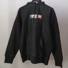 "Load image into Gallery viewer, ""CAFÉ"" Hoodie Pitch Black"