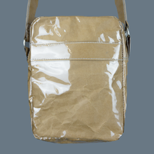 "Load image into Gallery viewer, ""Not recyclable"" PVC PAPER shoulder Bag"