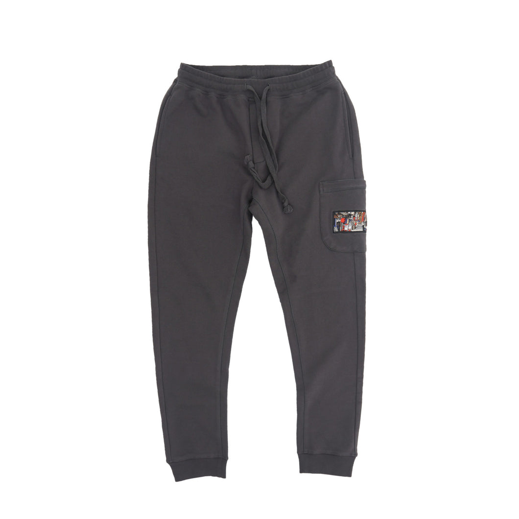 """nights in Japan"" anthracite jogger"