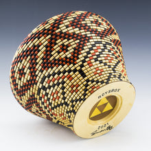 Load image into Gallery viewer, Mahogany box with a inner lid