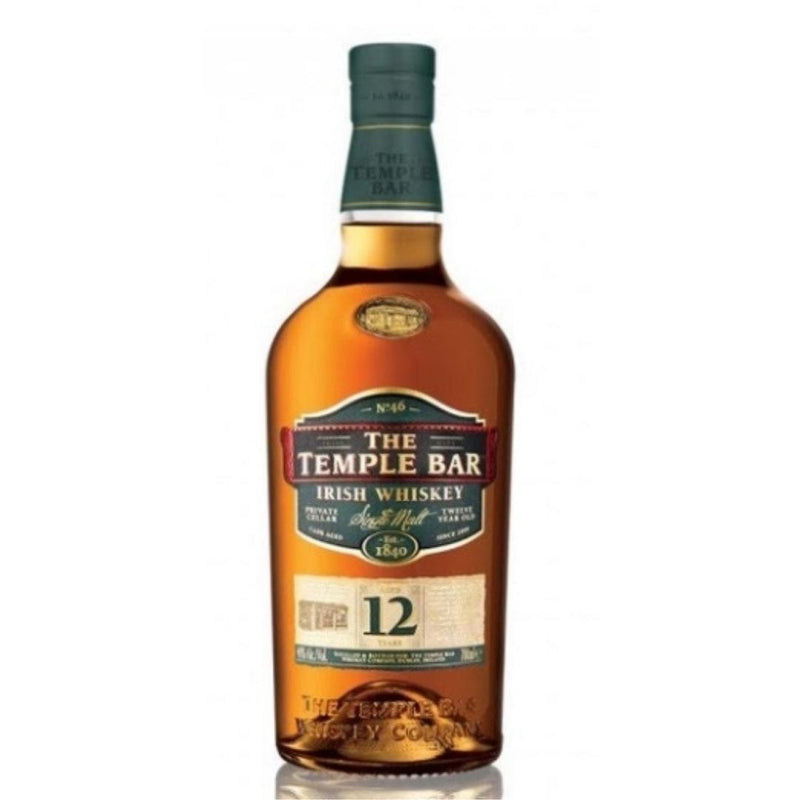 The Temple Bar 12Y S.M. Irish Whiskey 70cl (5217649754247)