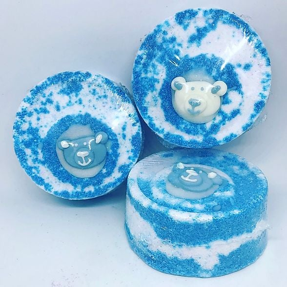 Cuddly teddy VEGAN bathbomb