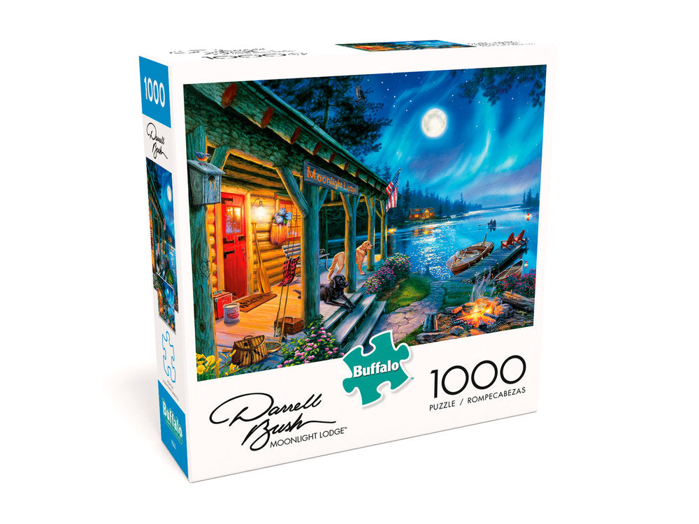 Moonlight Lodge 1000 Piece Puzzle