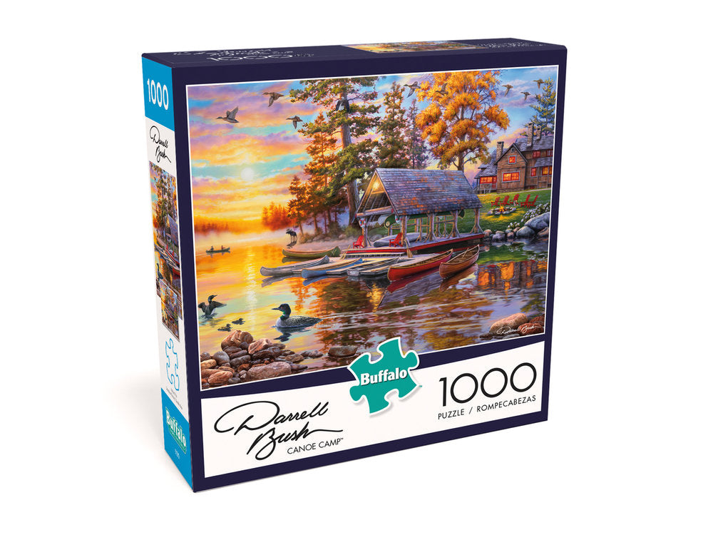 Canoe Camp 1000 Piece Puzzle