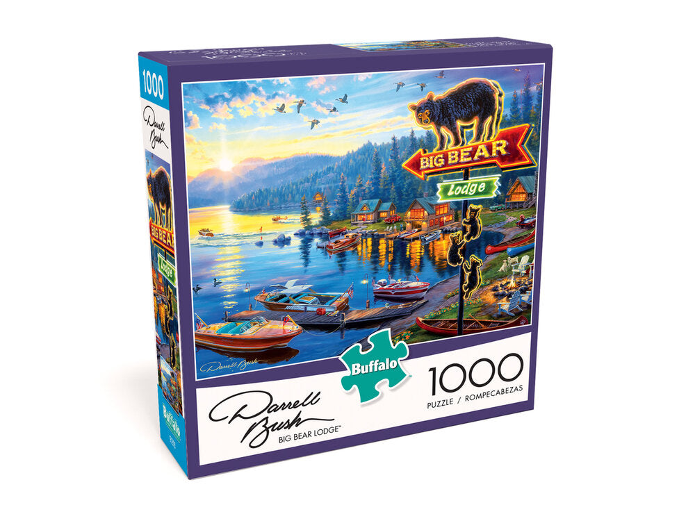 Big Bear Lodge 1000 Piece Puzzle