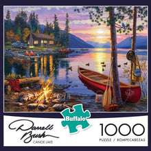 Load image into Gallery viewer, Canoe Lake 1000 Piece Puzzle