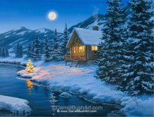 Load image into Gallery viewer, Christmas Cabin
