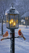 Load image into Gallery viewer, Warmth of Winter (Cardinal Pair)