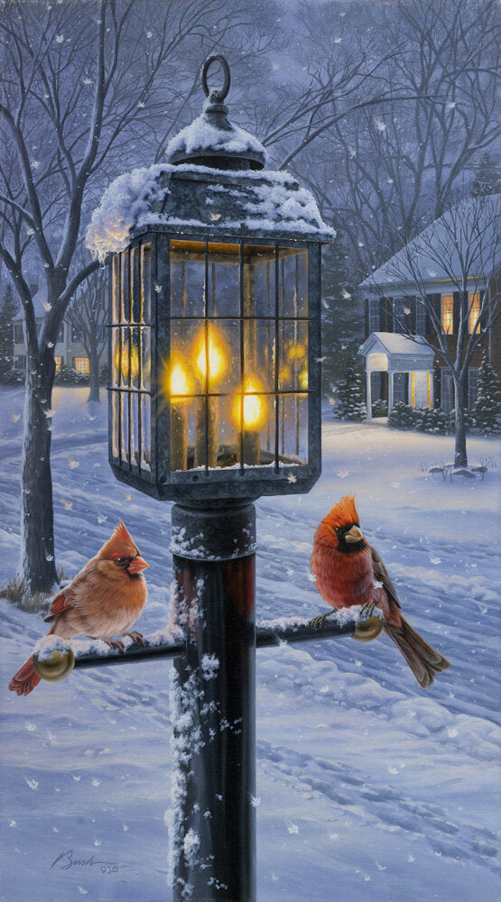 Warmth of Winter (Cardinal Pair)