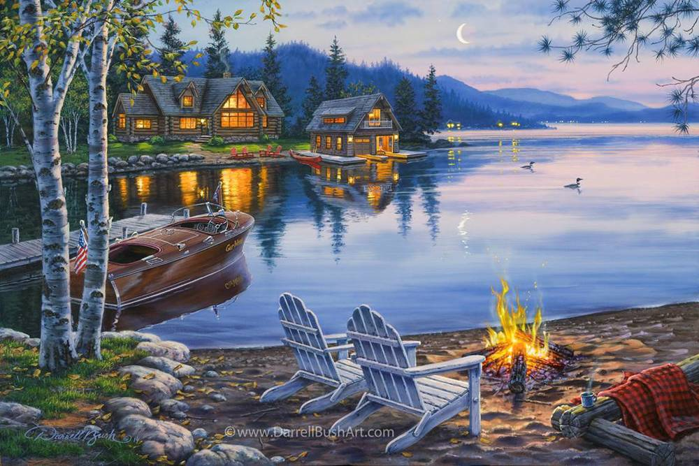 Evening at the Lake