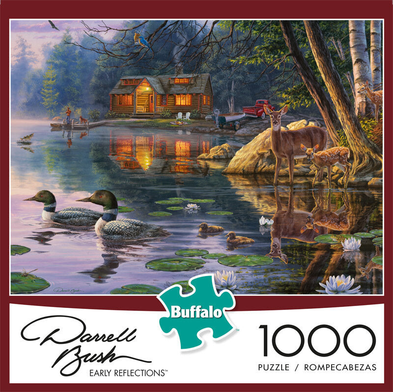 Early Reflections 1000 Piece Puzzle