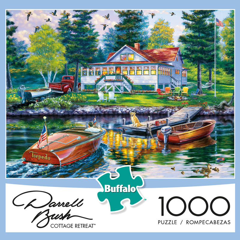 Cottage Retreat 1000 Piece Puzzle