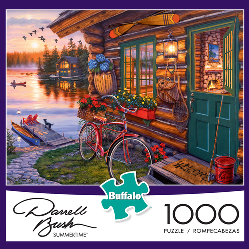 Summertime 1000 Piece Puzzle