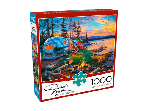 Camping Reflections 1000 Piece Puzzle
