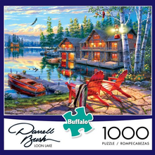Load image into Gallery viewer, Loon Lake 1000 Piece Puzzle