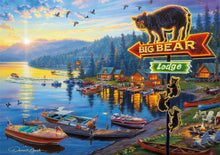 Load image into Gallery viewer, Big Bear Lodge 500 Piece Puzzle