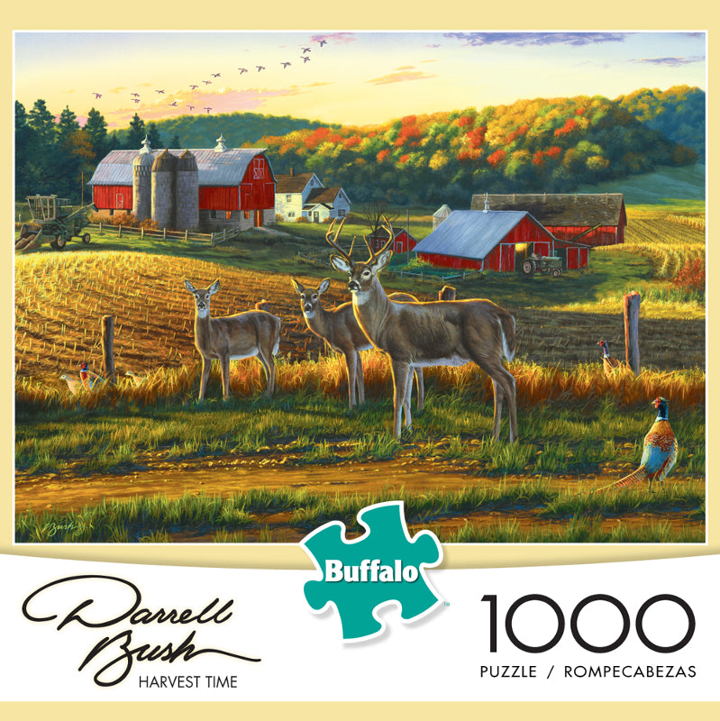 Harvest Time 1000 Piece Puzzle