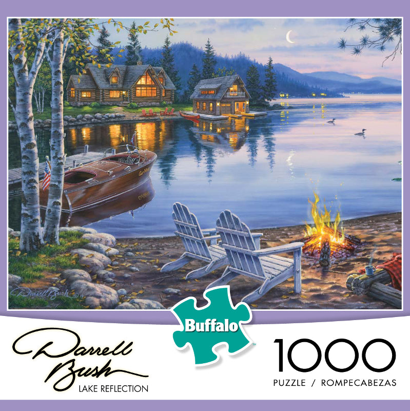 Lake Reflection 1000 Piece Puzzle