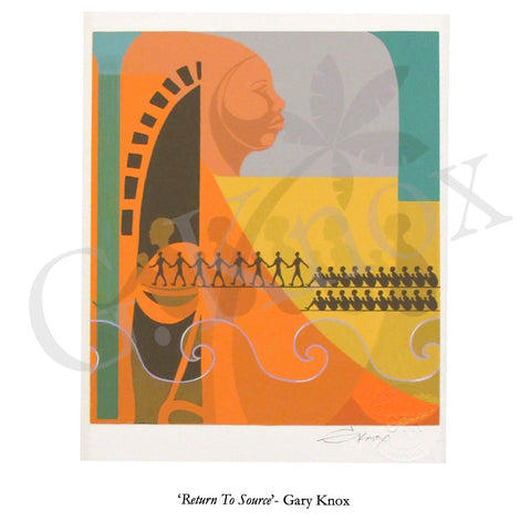 "Giclee Print ""Return To Source"" by Gary Knox, Unmatted"
