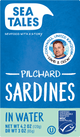 Sardines in water (tray 12 pc)