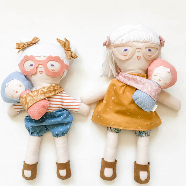 handmade albino dolls with albinism