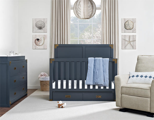 Wyatt Dresser Topper - Graphite Blue - N/A