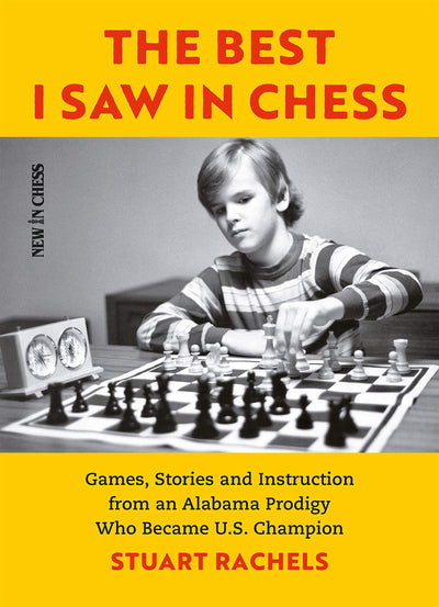 Stuart Rachels, US Champion and author of The Best I Saw in Chess is visiting on 4/11