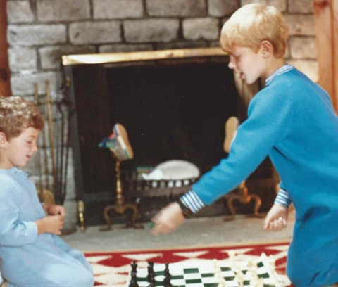 An early chess lesson