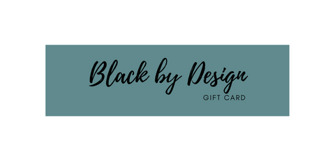 Black By Design - Gift Card