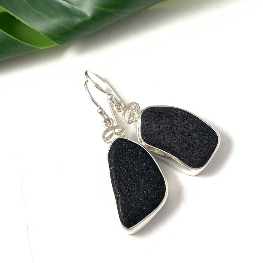 OS Sea Glass Earrings