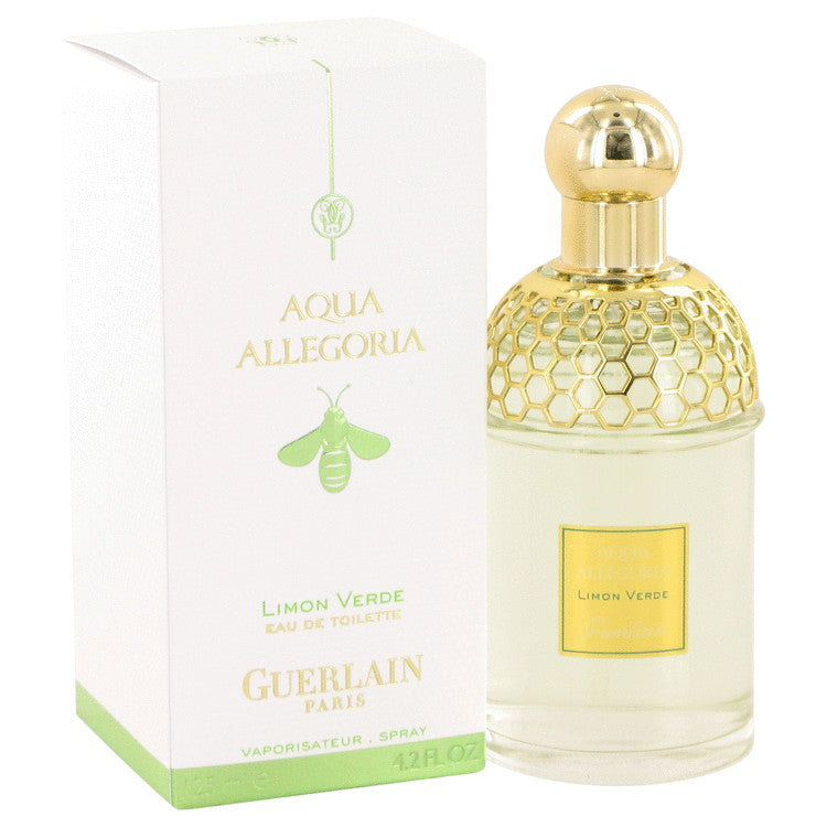 AQUA ALLEGORIA Limon Verde by Guerlain Eau De Toilette Spray 4.2 oz for Women