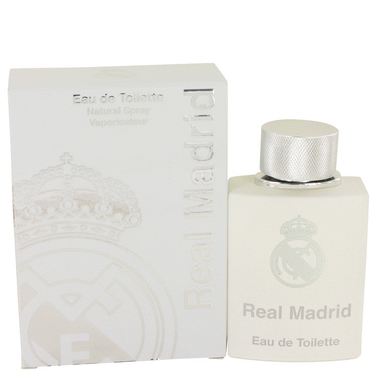 Real Madrid by AIR VAL INTERNATIONAL Eau De Toilette Spray 3.4 oz for Women