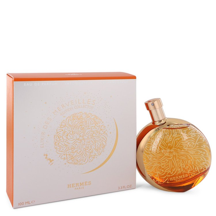 Elixir Des Merveilles by Hermes Eau De Parfum Spray (Collector Edition) 3.3 oz for Women
