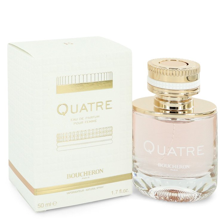 Quatre by Boucheron Eau De Parfum Spray 1.7 oz for Women