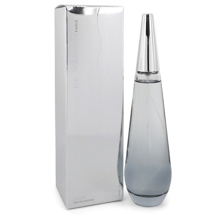 Ice Silver by Sakamichi Eau De Parfum Spray 3.4 oz for Women