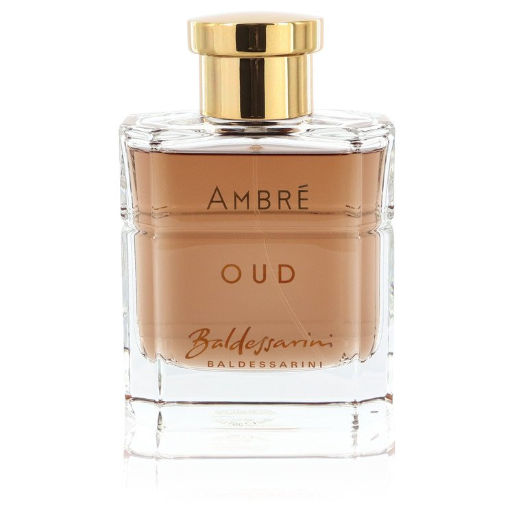 Baldessarini Ambre Oud by Hugo Boss Eau De Parfum Spray (unboxed) 3 oz for Men