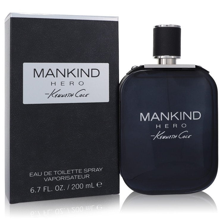 Kenneth Cole Mankind Hero by Kenneth Cole Eau De Toilette Spray 6.7 oz for Men