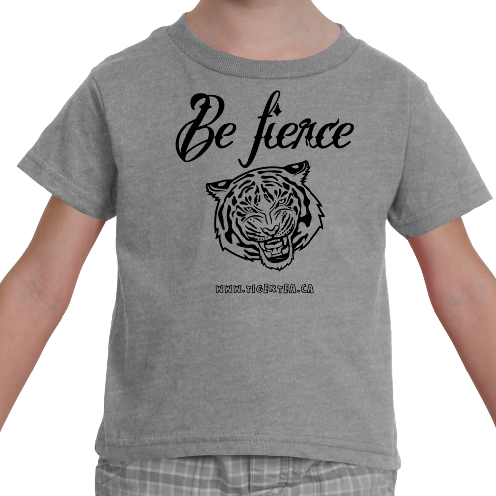 Be fierce children's tiger t-shirt