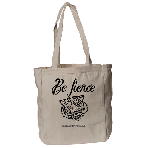 Be Fierce Tiger Tea book tote