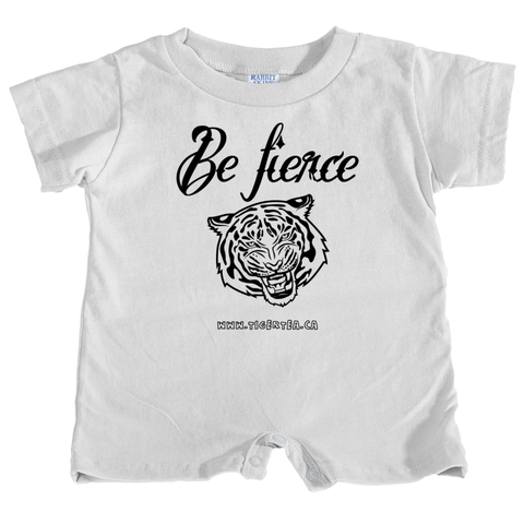 Be fierce baby t-shirt romper