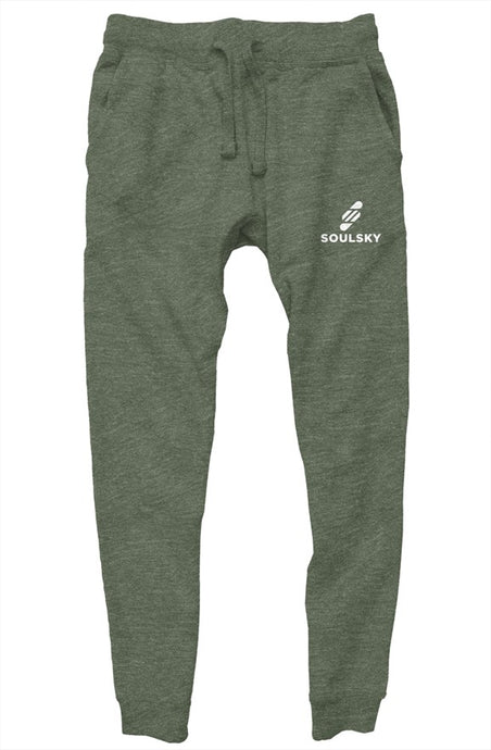 SOULSKY Unisex Jogger - Military Green Heather