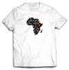 AFRICA BLOOMING Tee - White - SOULSKY