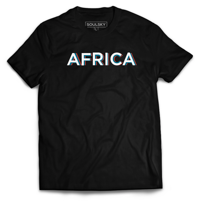 AFRICA GLOWS Tee - SOULSKY