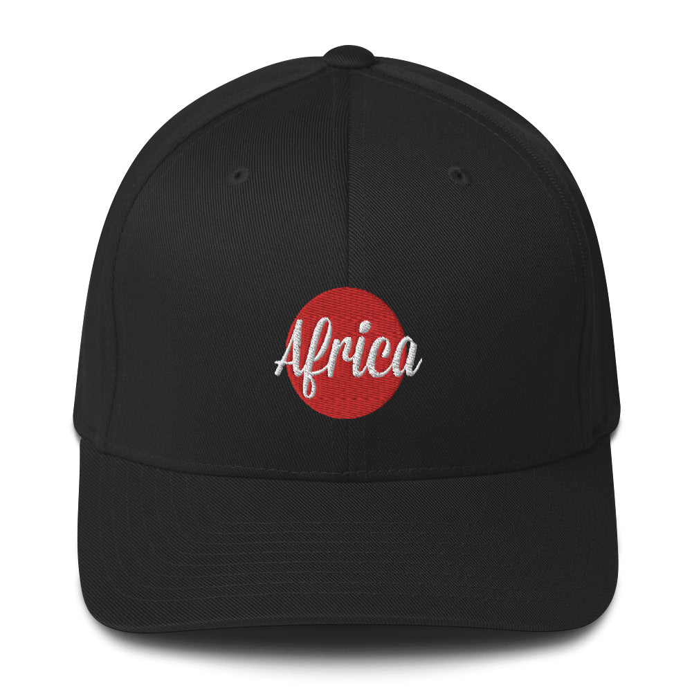AFRICA - RED SUN Baseball Cap
