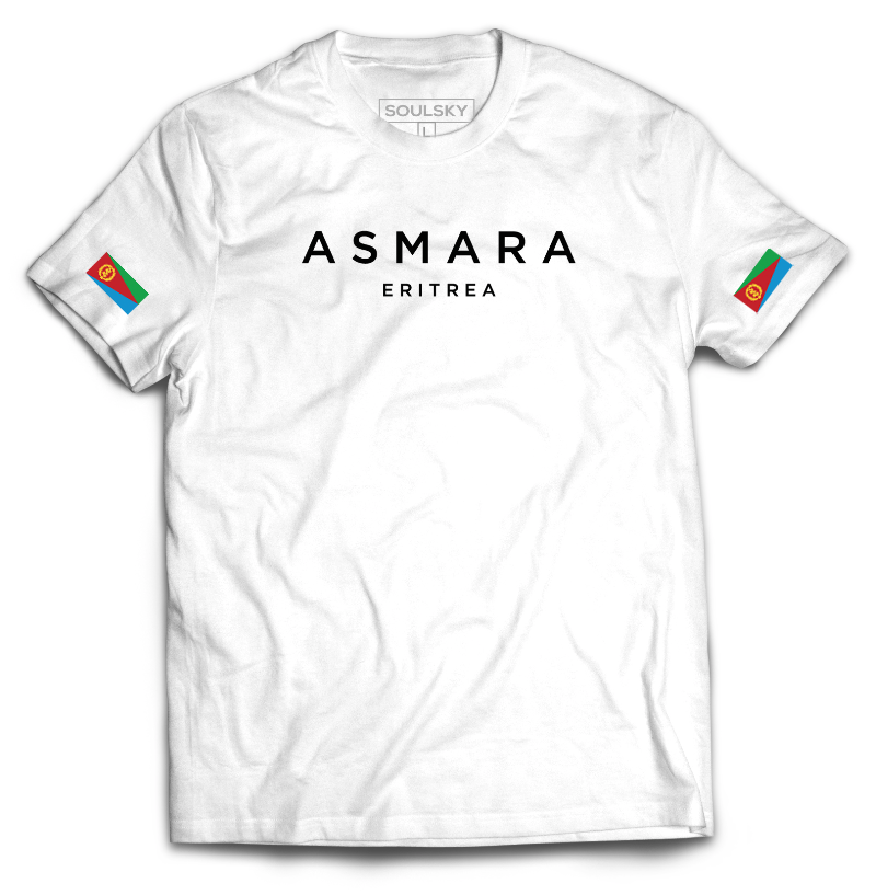 Best High Quality ASMARA ERITREA O-Neck T-Shirt - White Online