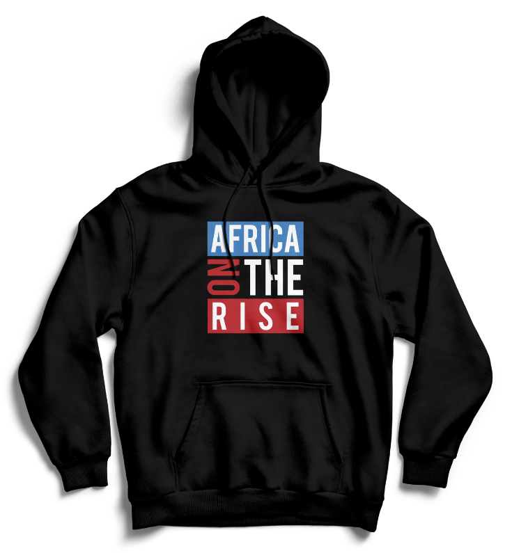AFRICA ON THE RISE Hoodie - Black