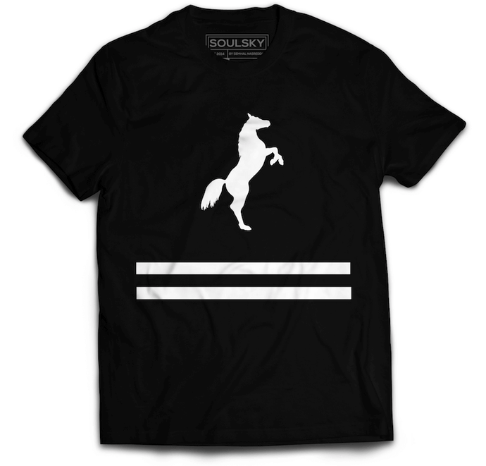 ELEVATE Tee - Black - SOULSKY
