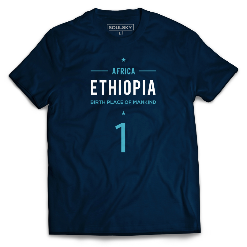 High Quality ETHIOPIA - BIRTHPLACE OF MANKIND T-Shirt 2020